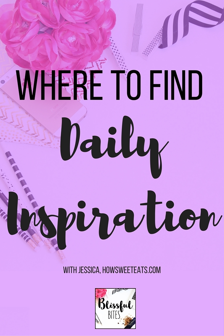 How to find inspiration!