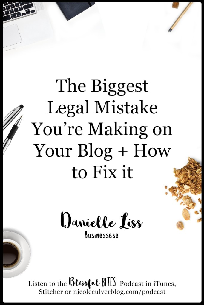 What you need to know to operate your blog legally!
