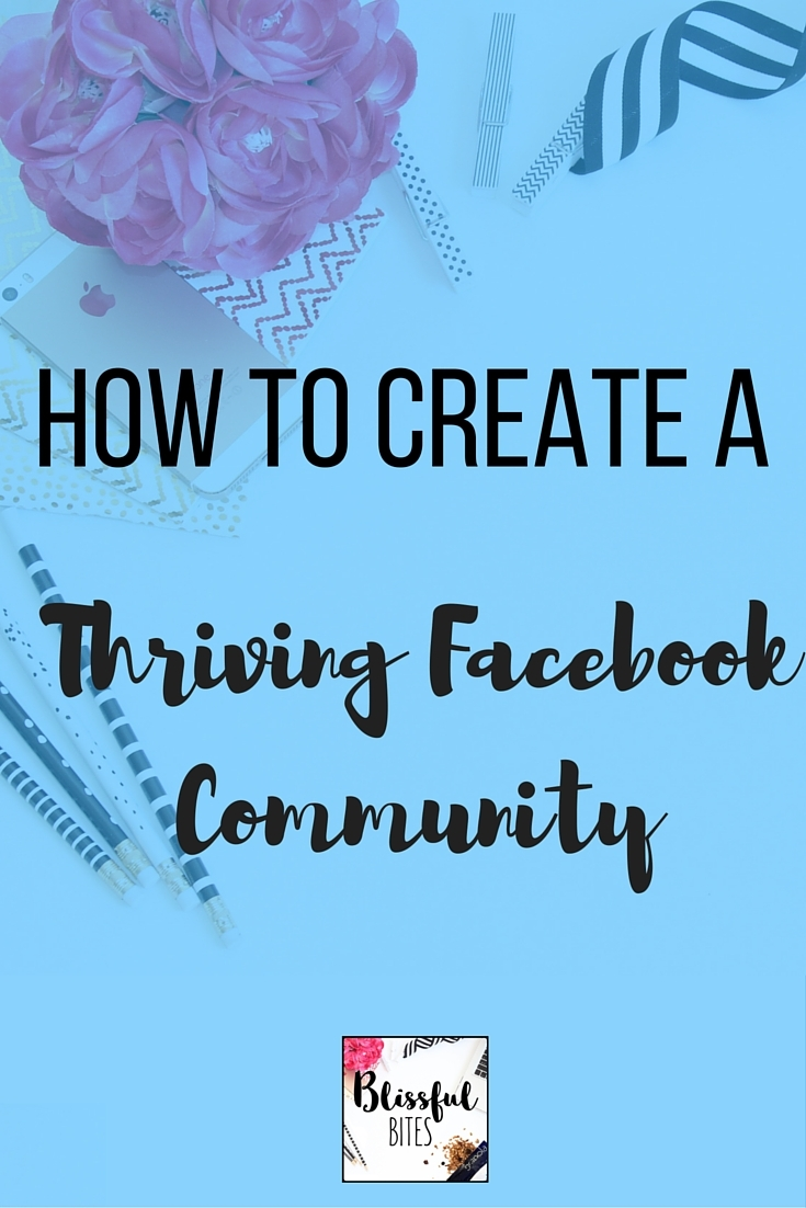 create a facebook community