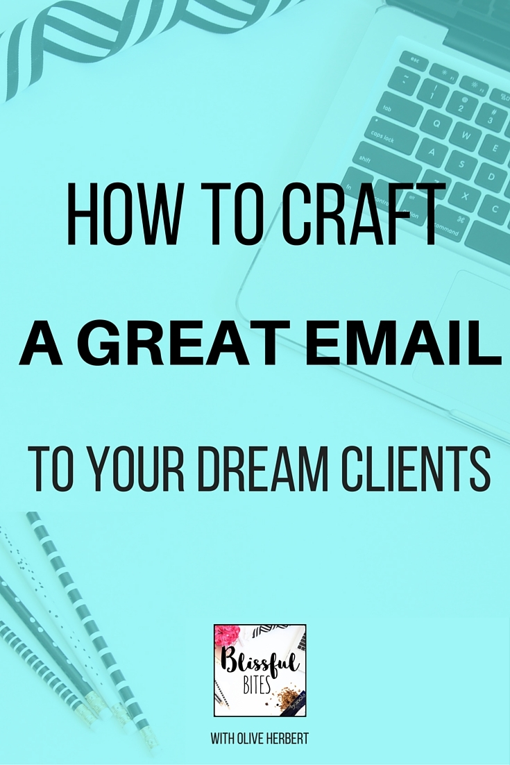 Craft a great email to your clients