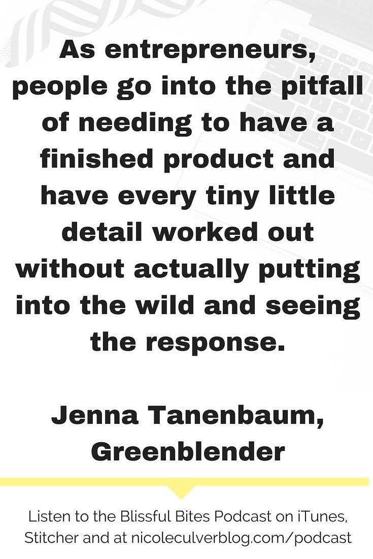 Jenna Tanenbaum Greenblender
