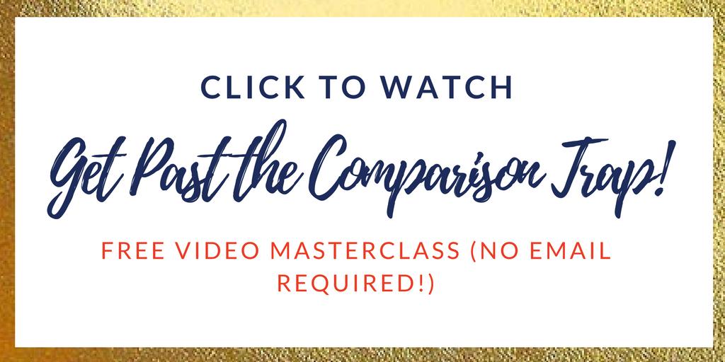 leave the comparison trap behind