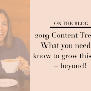 food bloggers content trends